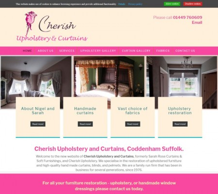 Cherish Upholstery and Curtains